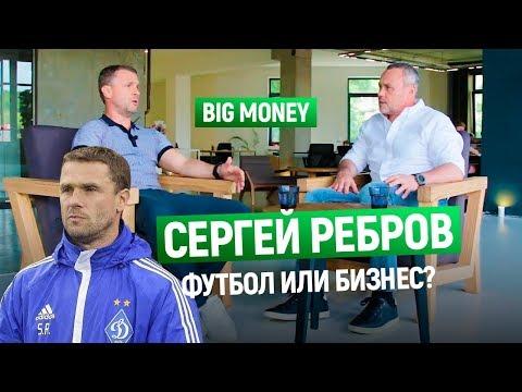 Сергей Ребров. О бизнесе и футболе. Как собрать сильную команду под своим началом| Big Money #21