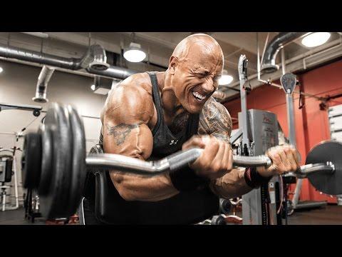 """Dwayne""""The Rock"""" Johnson Workout 2016 #1"""