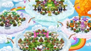 My Singing Monsters: Dawn Of Fire - Cloud Island (Full Song) (1.11.0)