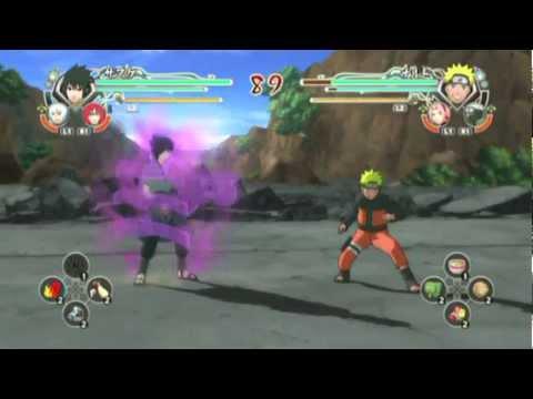 Naruto shippuden ultimate ninja storm generations / Sasuke moveset ( Susanoo)