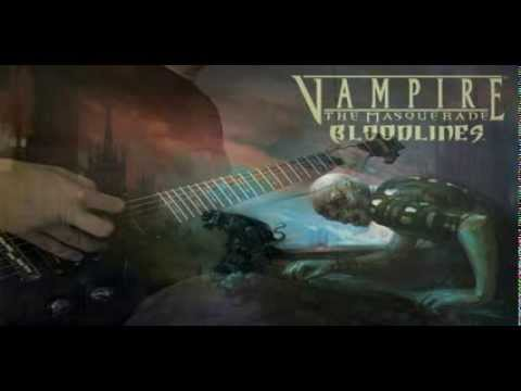 Vampire: The Masquerade Bloodlines - Hollywood Theme - Full Guitar Cover + Solo video