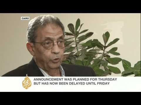 Amr Moussa speaks to Al Jazeera