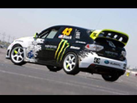 Ken Block Subaru Impreza WRX STI Gymkhana 2 @ the Track