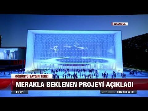 Erdoğan, yeni AKM projesini tanıttı - 6 Kasım 2017