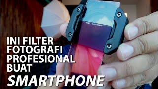 Bikin Smartphone Jadi Kamera Profesional   Hands On Nisi P1 Filter
