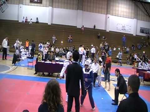 Brianna Elias Taekwondo domination part 1 Video
