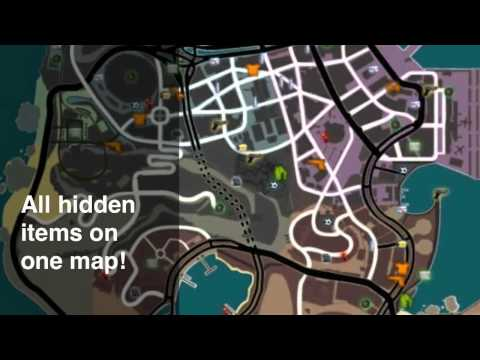 Gangstar Rio:City of Saints Cheat-Map HD