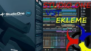 Studio One VST Ekleme / Studio One How to Add Vsts Plugins