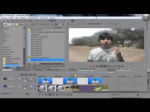 tutorial sony vegas pro 12 parte 4 español