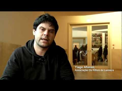 Tiago Afonso ea escola do cinema directo neste Momento XXI do Sabor do Cinema
