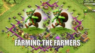 Clash of Clans - Part 30 - Farming the Farmers