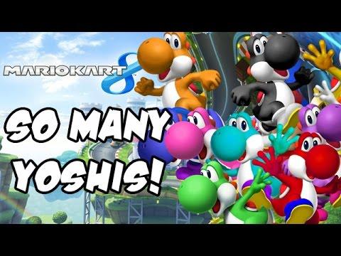 Mario Kart 8 DLC - NEW Yoshi Colors