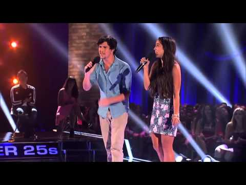 Alex amp Sierra Perform Gravity  THE X FACTOR USA 2013