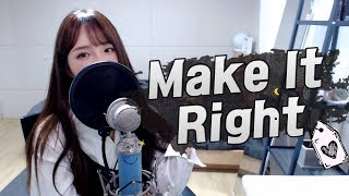 BTS(방탄소년단) - Make It Right COVER by 새송|SAESONG