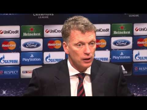 "David Moyes adelt Robin van Persie: ""Top-Spieler!"" | Manchester United - Olympiakos Piräus 3:0"