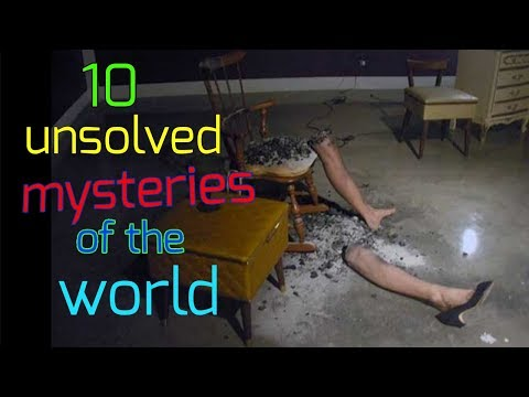 10 unsolved mysteries of the world