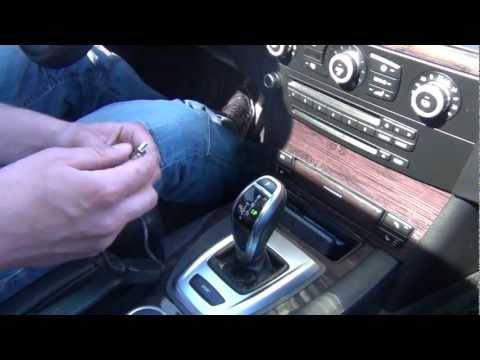 GTA Car Kits - BMW cable from AUX/USB to iPod/iPhone/iPad (in E60)