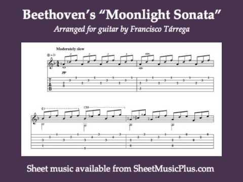 Francisco Tarrega - Moonlight Sonata