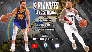 NBA Conference Finals:  Golden State Warriors vs Portland Trail Blazers (Game 1)