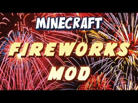 Minecraft - Ender Wand and Fireworks Mod Spotlight! Music Videos