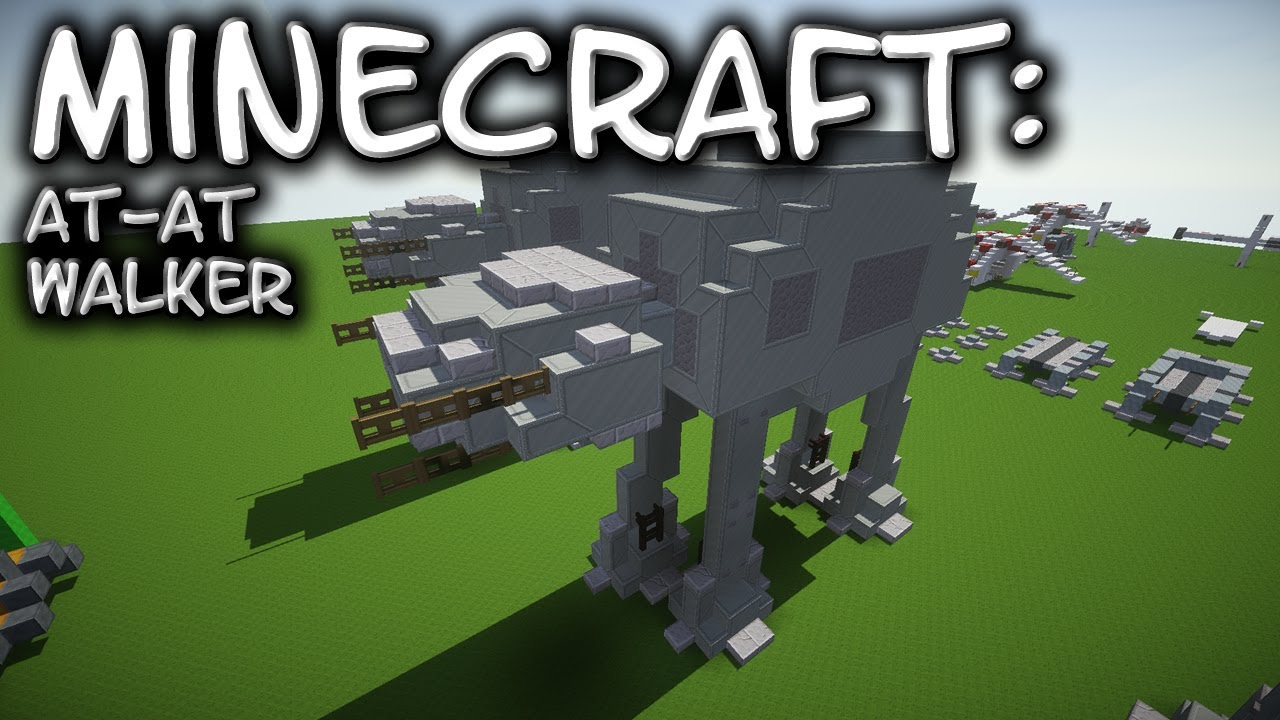 Minecraft Star Wars AT AT Tutorial YouTube