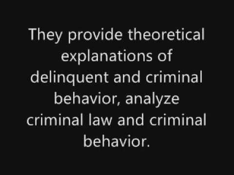 Criminology - video 2