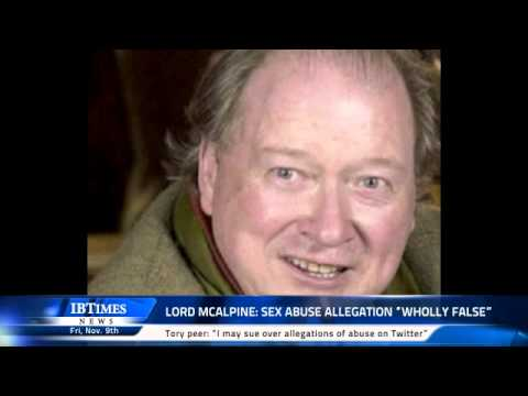 Lord McAlpine: sex abuse allegation