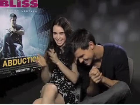 MyBliss meets Lily Collins and Taylor Lautner!