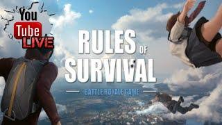 NEW UPDATE NA NAMAN GUYS ! PERO NO ANTI CHEAT IMPROVEMENT !   Rules Of Survival Livestream
