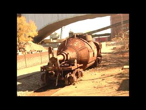 STEEL MILL RAILROAD RELICS Still found in Pittsburgh, Pa
