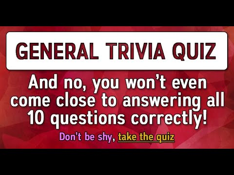 10 General Knowledge Questions
