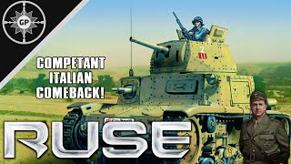 Italy is the Best Faction? - R.U.S.E. Multiplayer Gameplay