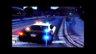 GTA V Police Buffalo, FIB & Unmarked Crown Vic