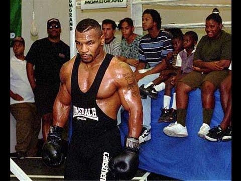 Бокс. Майк Тайсон  тренировки.  Mike Tyson training