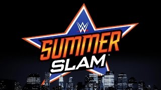 OFFICIAL: WWE SummerSlam 2016 Full Match Card [HD]
