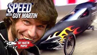 The World's Fastest 85.6mph Gravity Racer | Guy Martin Proper