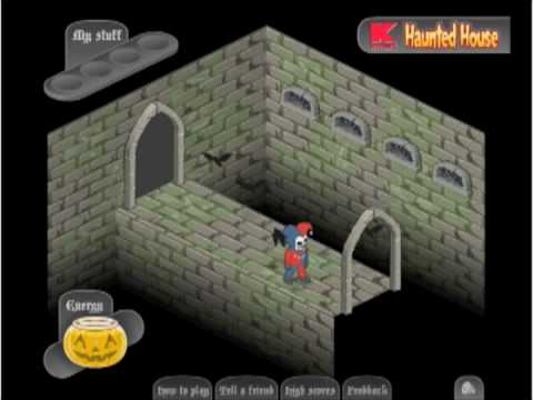 K-Mart Haunted House Game Walkthrough - 15.1KB
