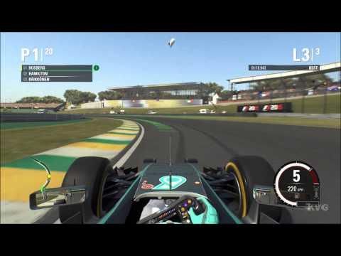 F1 2015 - Autódromo José Carlos Pace   Brazilian Grand Prix Gameplay (PC HD) [1080p]