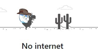 Playing the Google Chrome Dinosaur Game