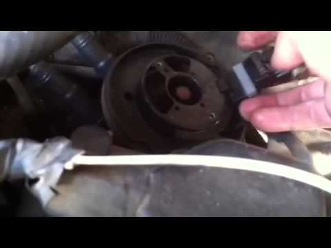 How to change camshaft position sensor in a Chevy 4.3l v6