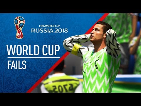 FIFA 18 | WORLD CUP FAIL Compilation