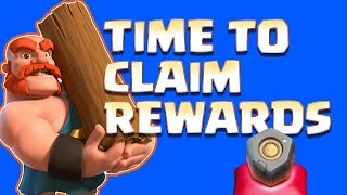 CLAIMING OUR REWARDS - CLAN GAMES - Clash of Clans