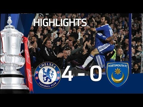 Chelsea 4-0 Portsmouth - Official Highlights and Goals | FA Cup 3rd Round Proper 08-01-12