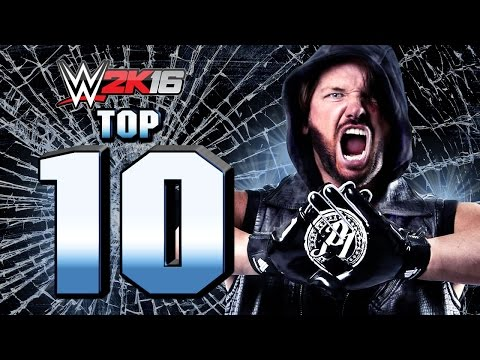 WWE 2K16 : AJ Styles Top 10 Moves SIMPLY PHENOMENAL