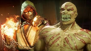 MORTAL KOMBAT 11 - Scorpion vs Baraka High Level Gameplay #2 @ 1440p ᴴᴰ ✔