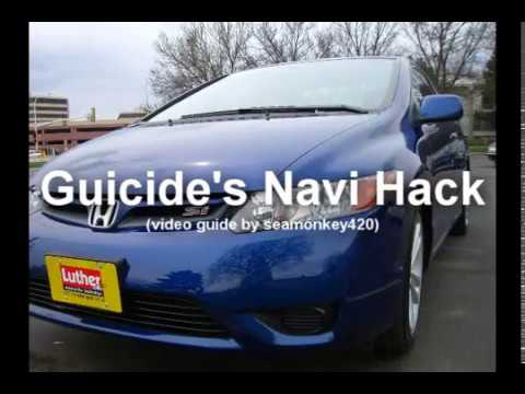 2006 Civic Navi Hack Howto Youtube