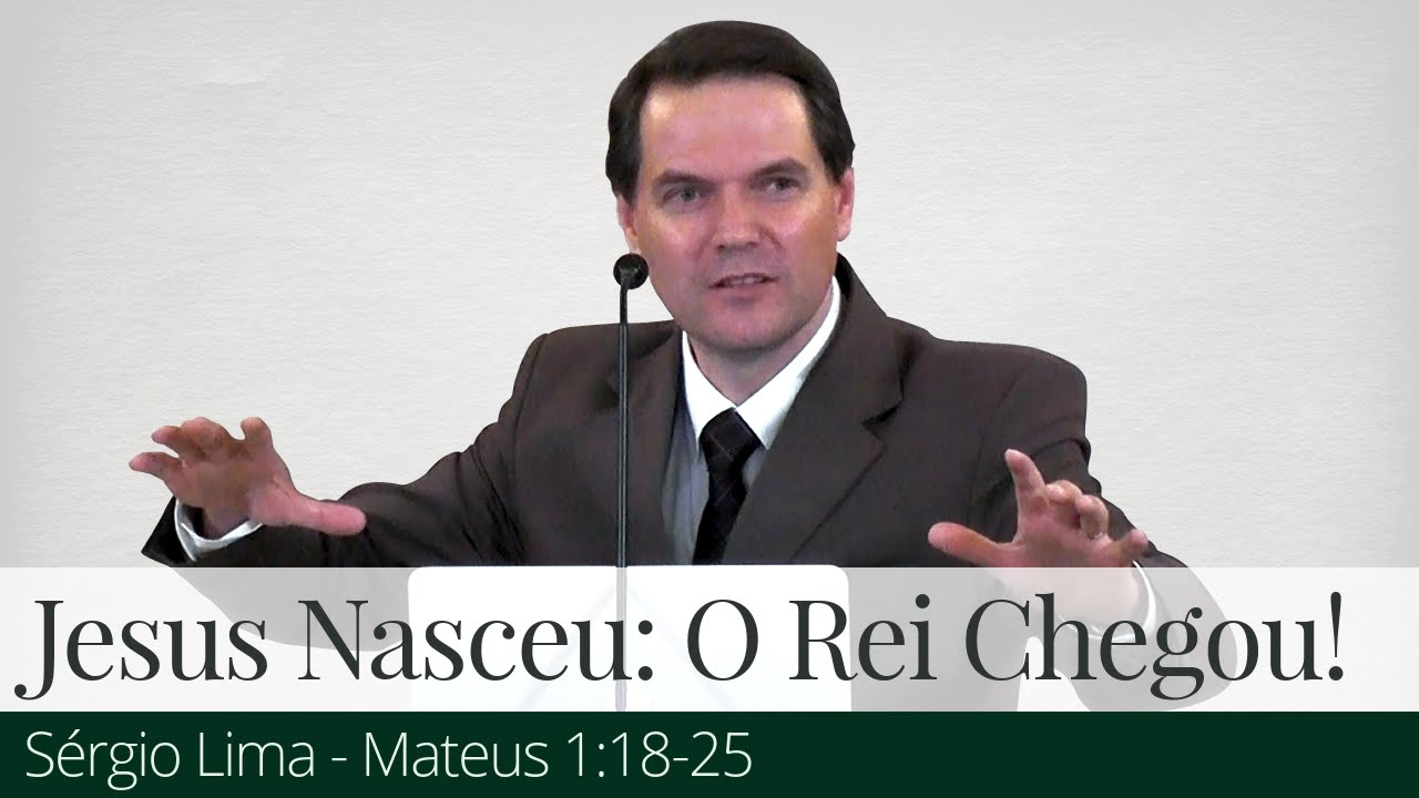 Jesus Nasceu: O Rei Chegou! - Sérgio Lima