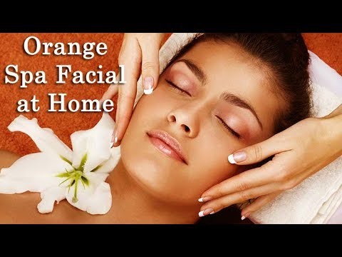 Facial at home step by step in Tamil|Orange Spa Facial TAMIL BEAUTY TIPS
