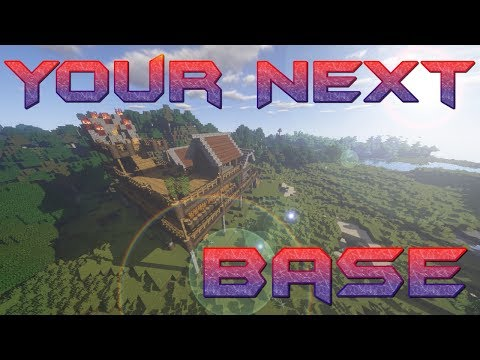 How to make a Base in Minecraft | Easy Minecraft Base Tutorial PART 1 | Minecraft Lets Build