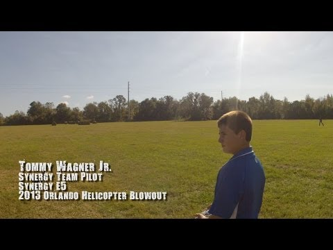 Tommy Wagner Jr. - Synergy E5 - 2013 Orlando Helicopter Blowout